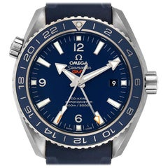 Omega Seamaster Planet Ocean GMT 600m Watch 232.92.44.22.03.001 Box Card