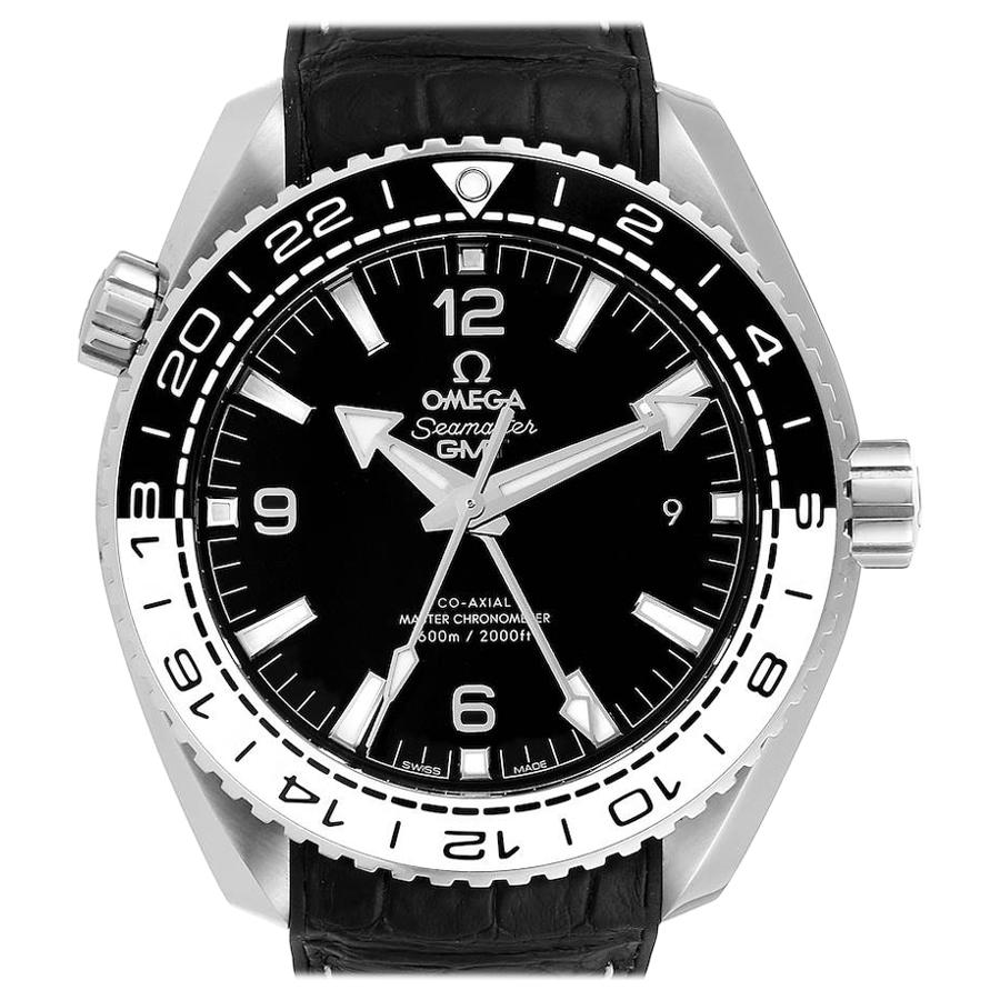 Omega Seamaster Planet Ocean GMT Watch 215.33.44.22.01.001 Box Card