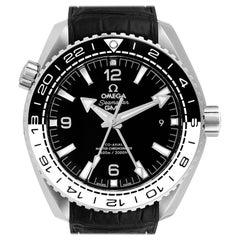 Omega Seamaster Planet Ocean GMT Watch 215.33.44.22.01.001 Box Card