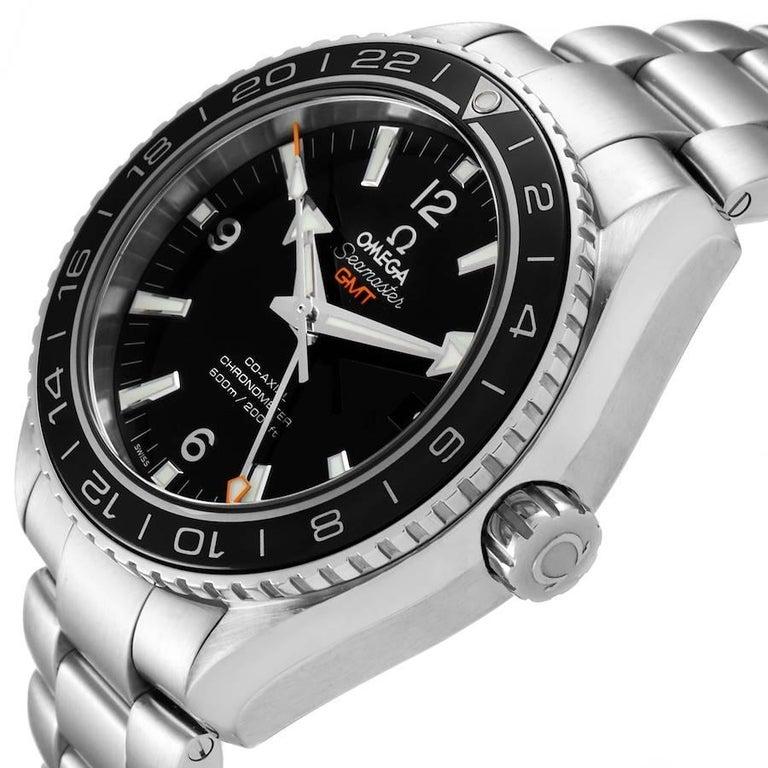 Omega Seamaster Planet Ocean GMT Watch 232.30.44.22.01.001 Box Card 1