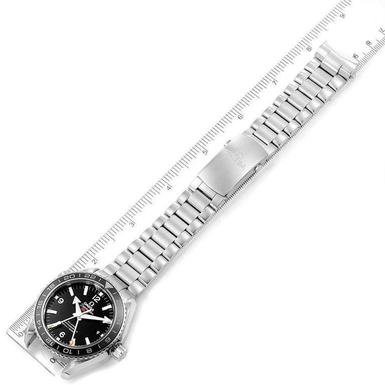 Omega Seamaster Planet Ocean GMT Watch 232.30.44.22.01.001 Box Card 4