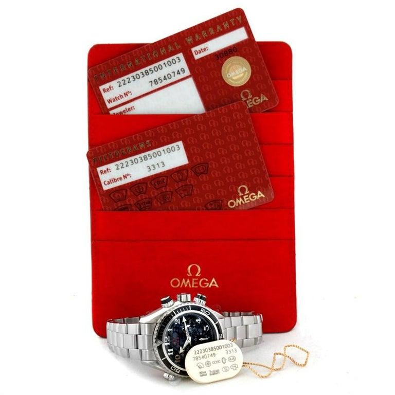 Omega Seamaster Planet Ocean Olympic 22230385001003 Watch Unworn For Sale 8