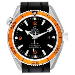Omega Seamaster Planet Ocean Rubber Strap Men's Watch 2909.50.91 Box Card