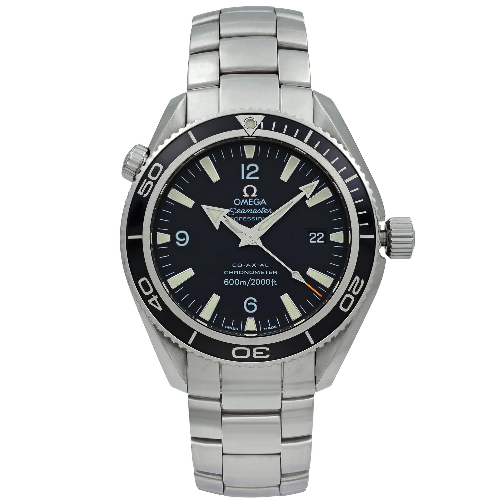 Omega Seamaster Planet Ocean Steel Black Dial Automatic Men's Watch 2201.50.00