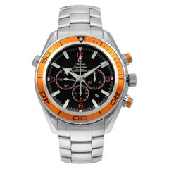 Omega Seamaster Planet Ocean Steel Black Dial Automatic Men's Watch 2218.50.00