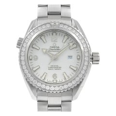 Omega Seamaster Planet Ocean Steel Diamond Ladies Watch 232.15.38.20.04.001