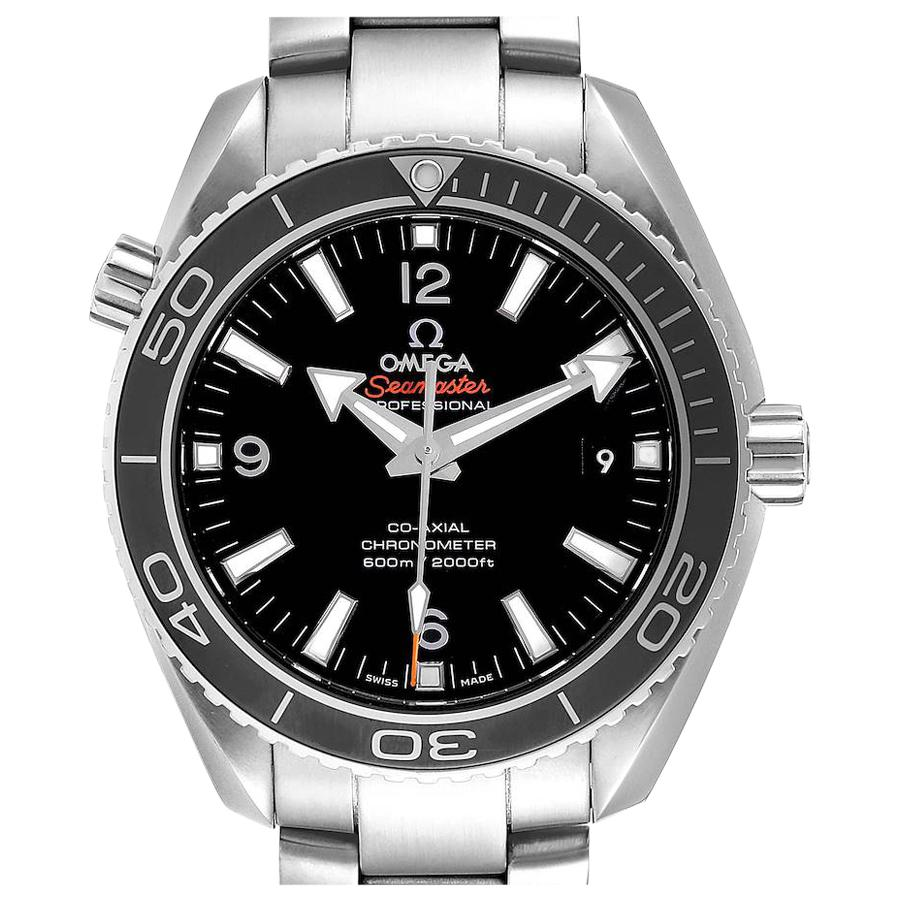 Omega Seamaster Planet Ocean Steel Men's Watch 232.30.42.21.01.001