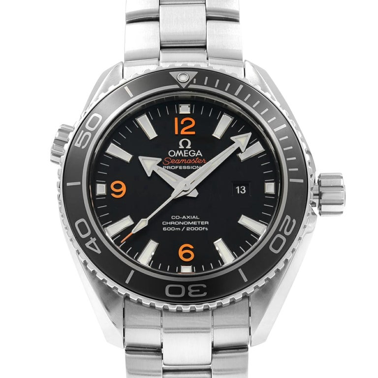 Store Display Model Never Worn. Can have minor blemishes or Missing tags and Stickers. Omega Seamaster Planet Ocean Steel Unisex Automatic Watch 232.30.38.20.01.002. This Beautiful Timepiece Features: Stainless Steel Case and Bracelet,