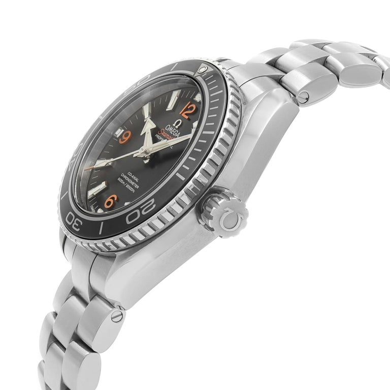 Omega Seamaster Planet Ocean Steel Unisex Automatic Watch 232.30.38.20.01.002 In New Condition In New York, NY