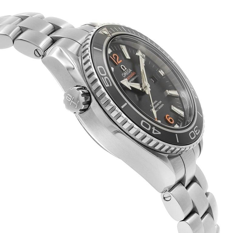 Men's Omega Seamaster Planet Ocean Steel Unisex Automatic Watch 232.30.38.20.01.002