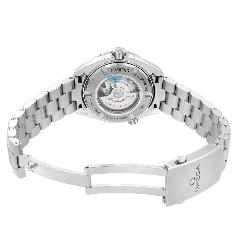 Omega Seamaster Planet Ocean Steel Unisex Automatic Watch 232.30.38.20.01.002 2
