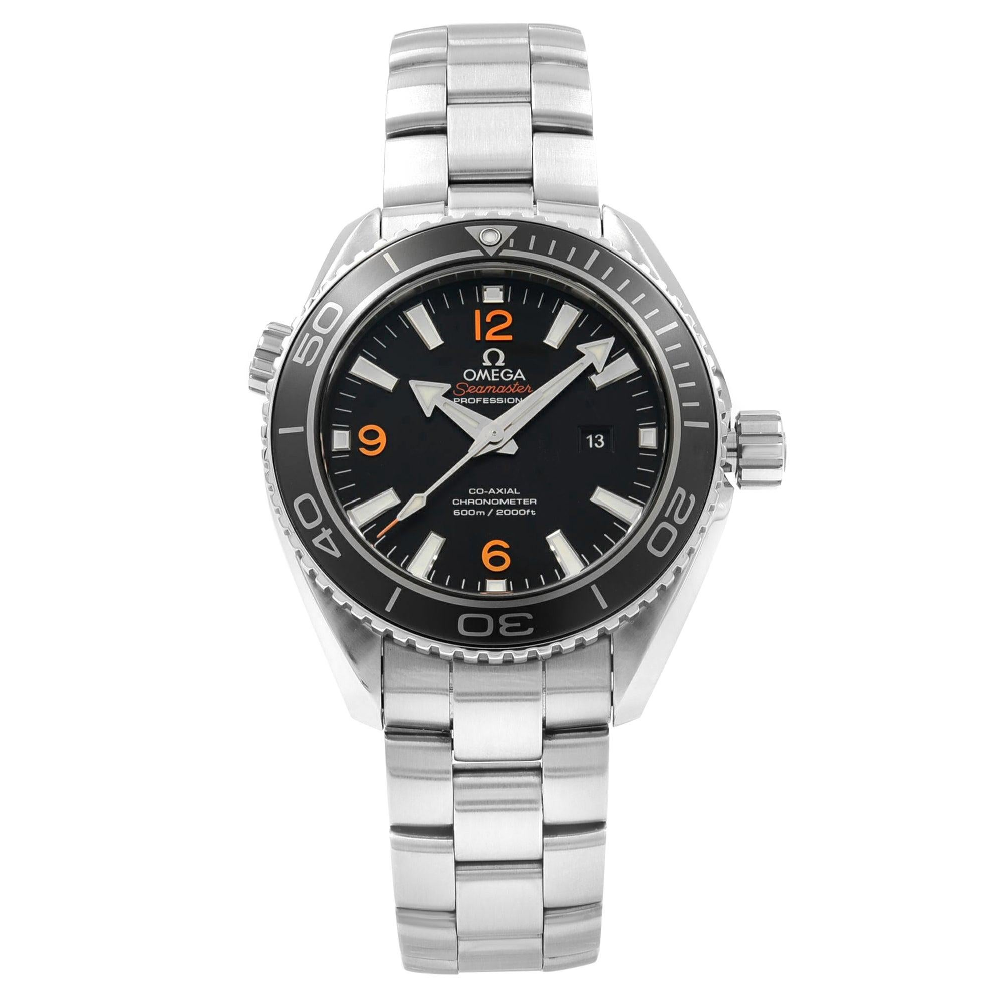 Omega Seamaster Planet Ocean Steel Unisex Automatic Watch 232.30.38.20.01.002
