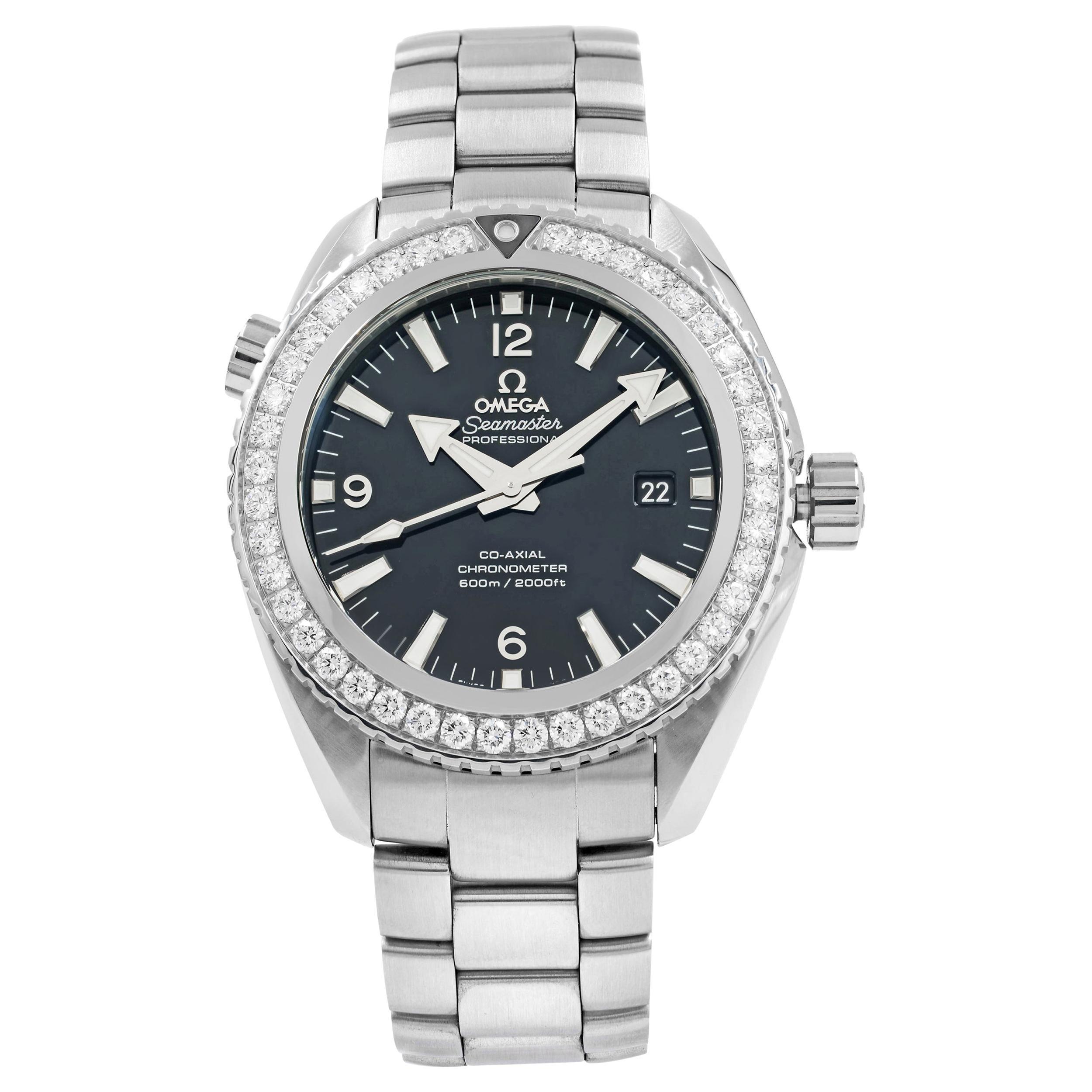 Omega Seamaster Planet Ocean Titanium Diamond Men's Watch 232.15.46.21.01.001
