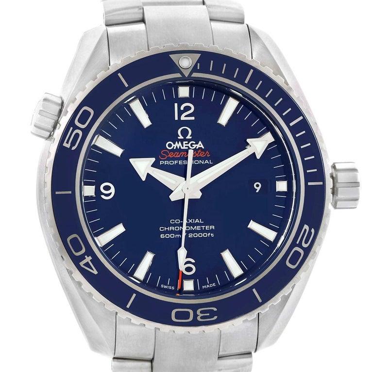 Omega Seamaster Planet Ocean Titanium Watch 232.90.46.21.03.001 Unworn For  Sale 3 e695628e76a8