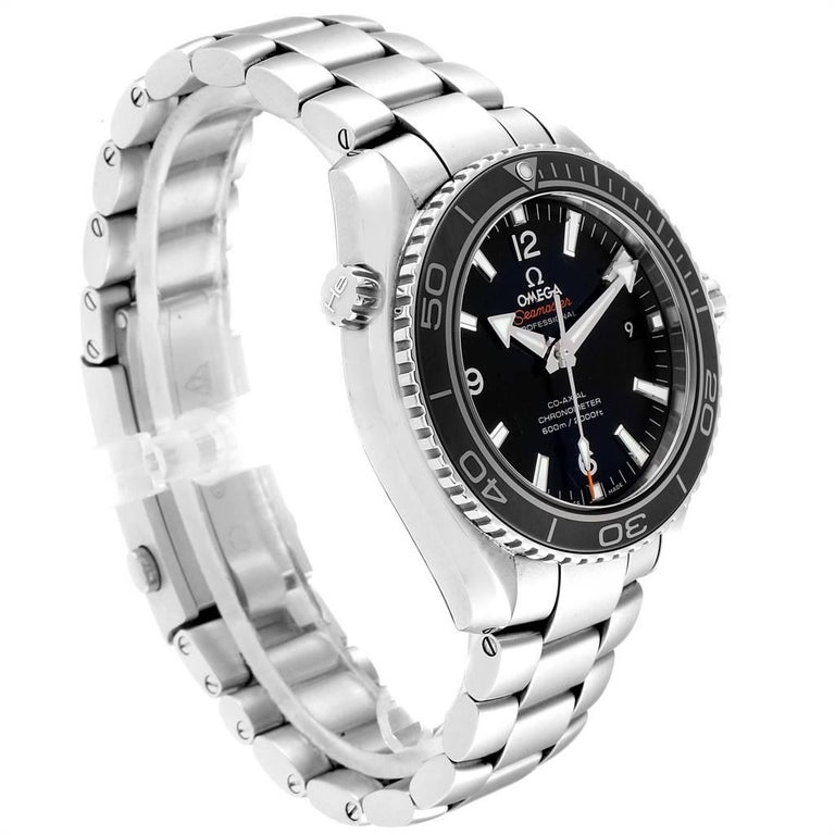 Omega Seamaster Planet Ocean Watch 232.30.42.21.01.001 Card In Excellent Condition In Atlanta, GA