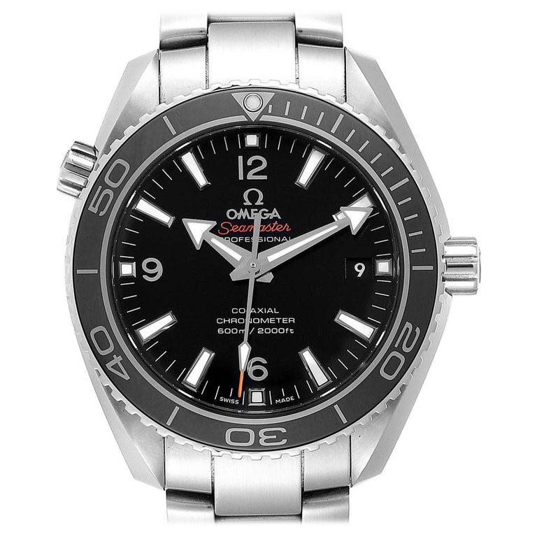Omega Seamaster Planet Ocean Watch 232.30.42.21.01.001 Card