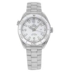 Omega Seamaster Planet Ocean White Dial Steel Watch 232.30.38.20.04.001