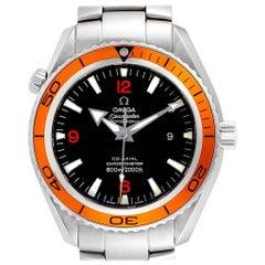 Omega Seamaster Planet Ocean XL Orange Bezel Men's Watch 2208.50.00