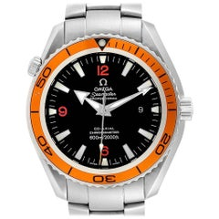 Omega Seamaster Planet Ocean XL Orange Bezel Men's Watch 2208.50.00