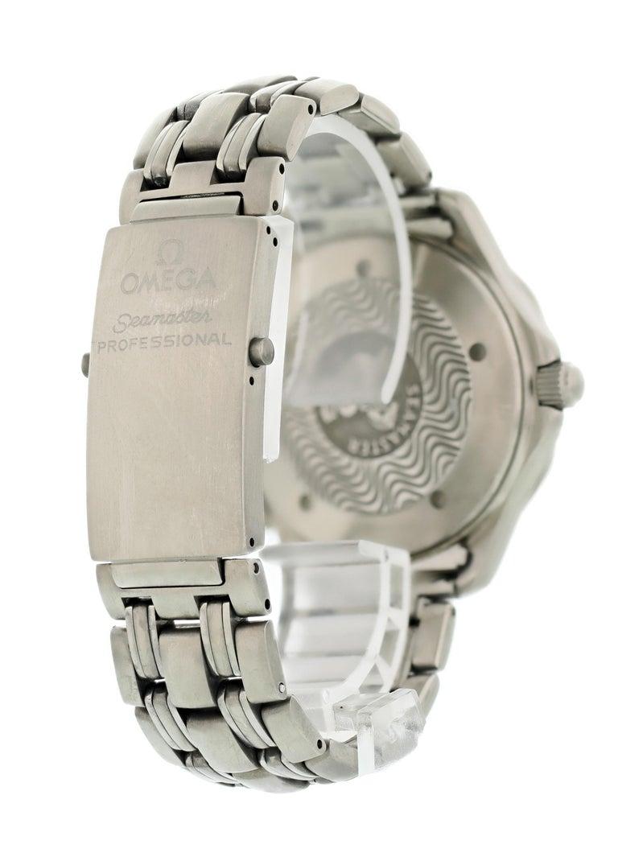 Men's Omega Seamaster Professional 2231.80 Titanium Men's Watch For Sale
