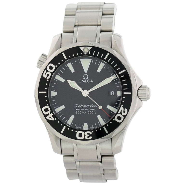 Omega Seamaster professional 2262.50.00 Mid Size Watch Box Papers For Sale