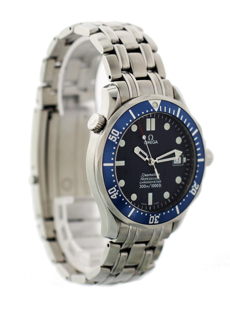 Omega Seamaster Professional 2531.80 Men's Watch In Excellent Condition For Sale In New York, NY