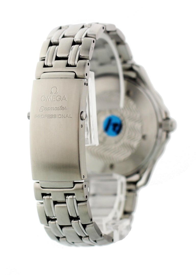 Omega Seamaster Professional 2531.80 Men's Watch For Sale 1