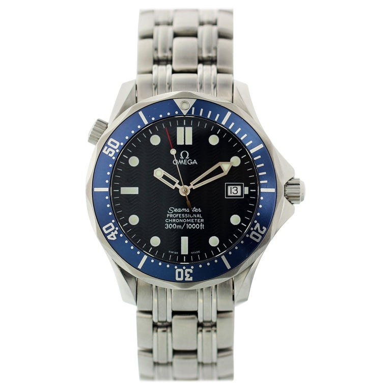 Omega Seamaster Professional 2531.80 Men's Watch For Sale
