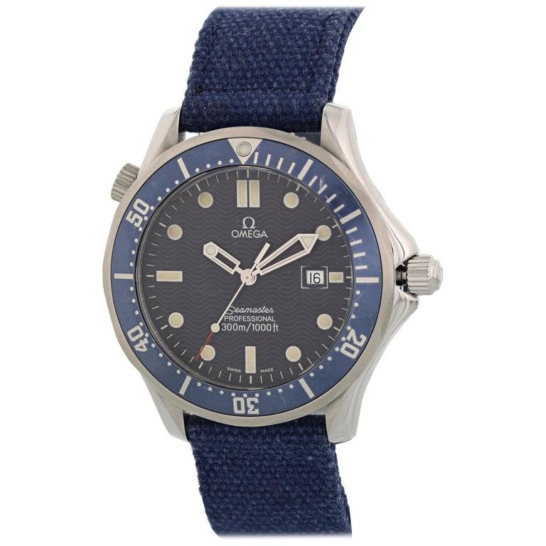 Omega Seamaster Professional 2541.80.00 Quartz Men's Watch For Sale