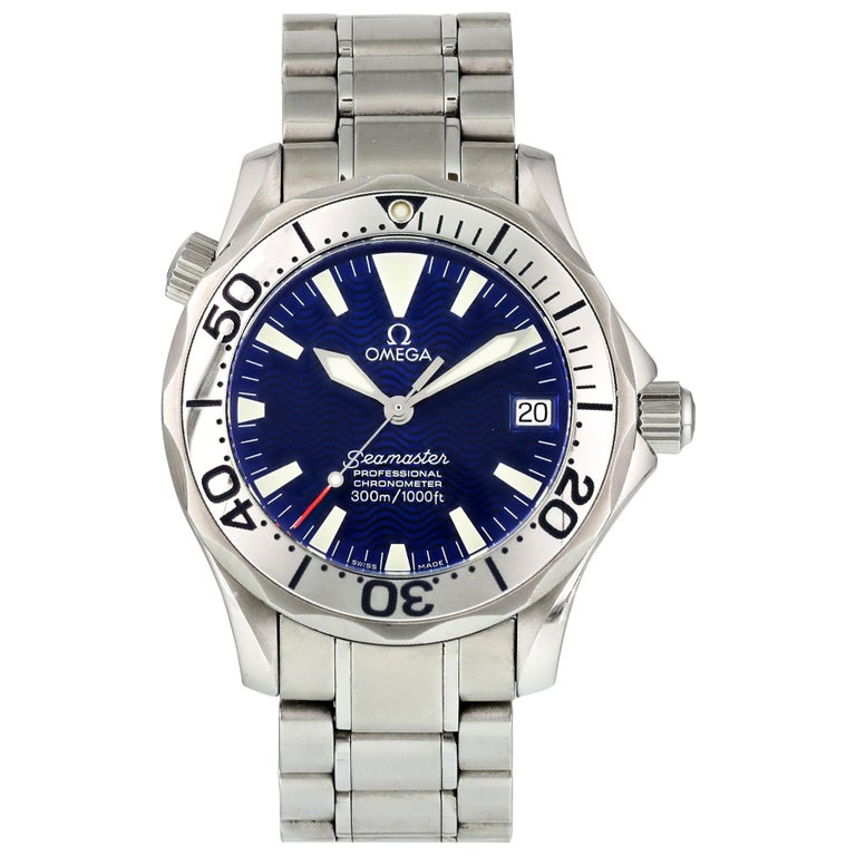 Omega Seamaster Professional 2553.80.00 Mid-Size Automatic Watch For Sale