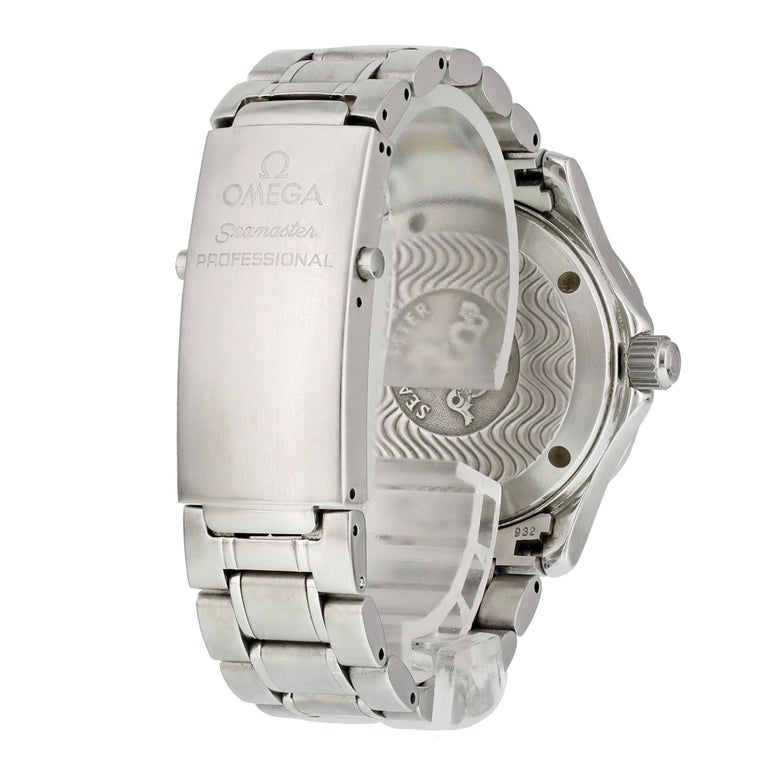 Men's Omega Seamaster Professional 2553.80.00 Mid-Size Watch For Sale