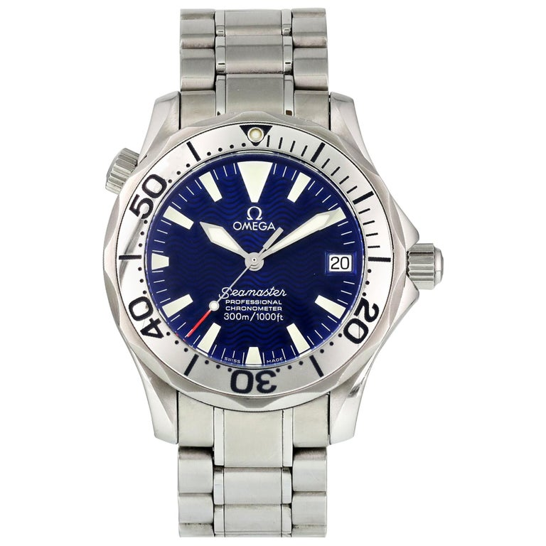 Omega Seamaster Professional 2553.80.00 Mid-Size Watch For Sale