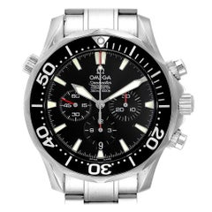 Omega Seamaster Professional Chronograph Black Dial Watch 2594.52.00