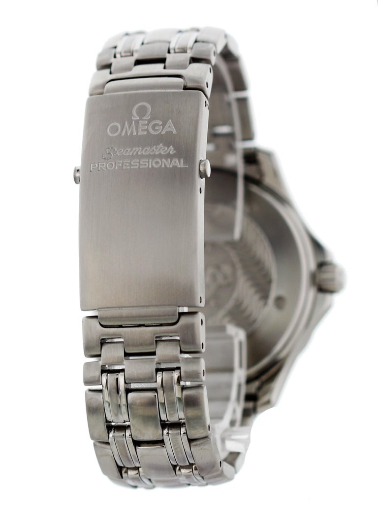 Omega Seamaster Professional Chronometer 2531.80 Men's Watch For Sale 1