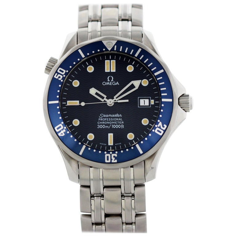 Omega Seamaster Professional Chronometer 2531.80 Men's Watch For Sale