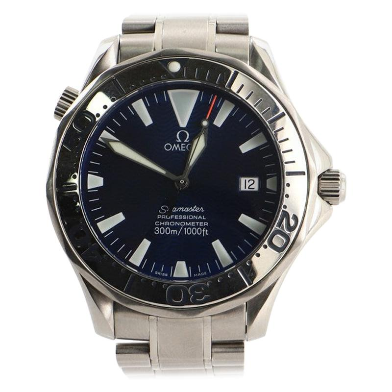 Omega Seamaster Professional Diver Chronometer 300M Automatic Watch Stainless
