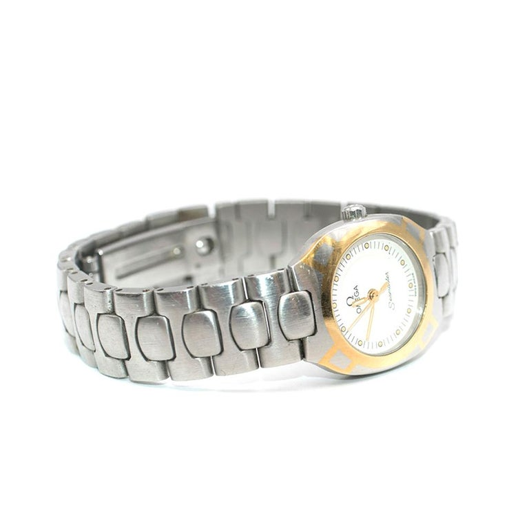 Women's or Men's Omega Seamaster Quartz Analogue Watch For Sale