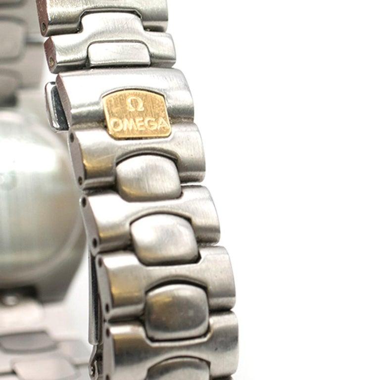 Omega Seamaster Quartz Analogue Watch For Sale 1