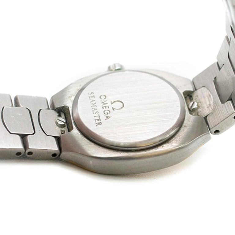 Omega Seamaster Quartz Analogue Watch For Sale 2