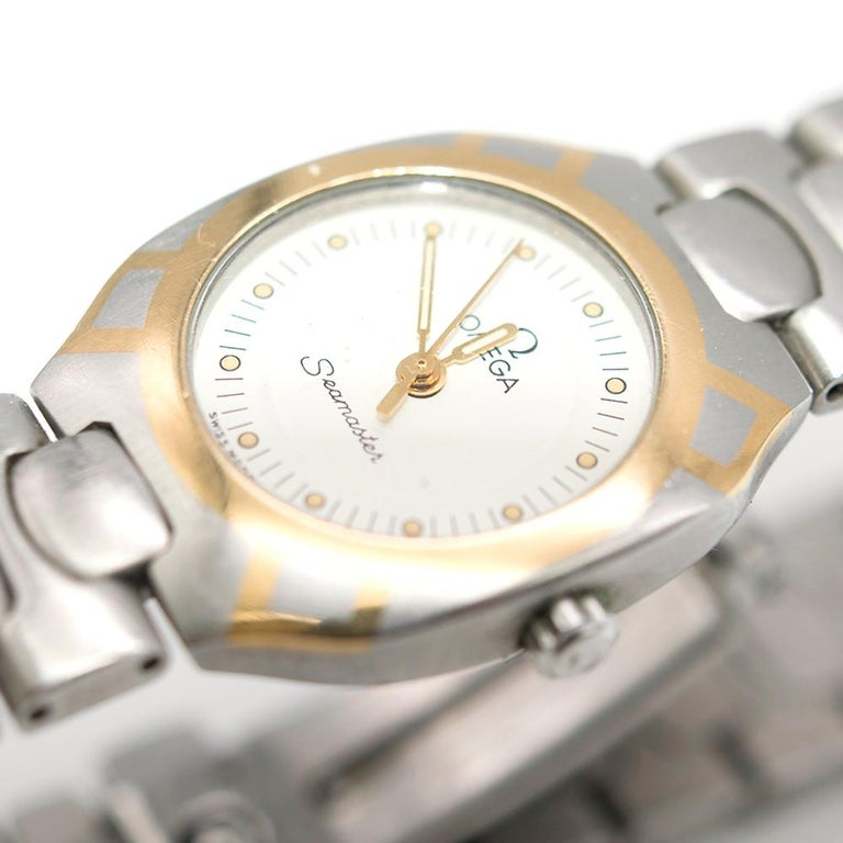 Omega Seamaster Quartz Analogue Watch For Sale 5