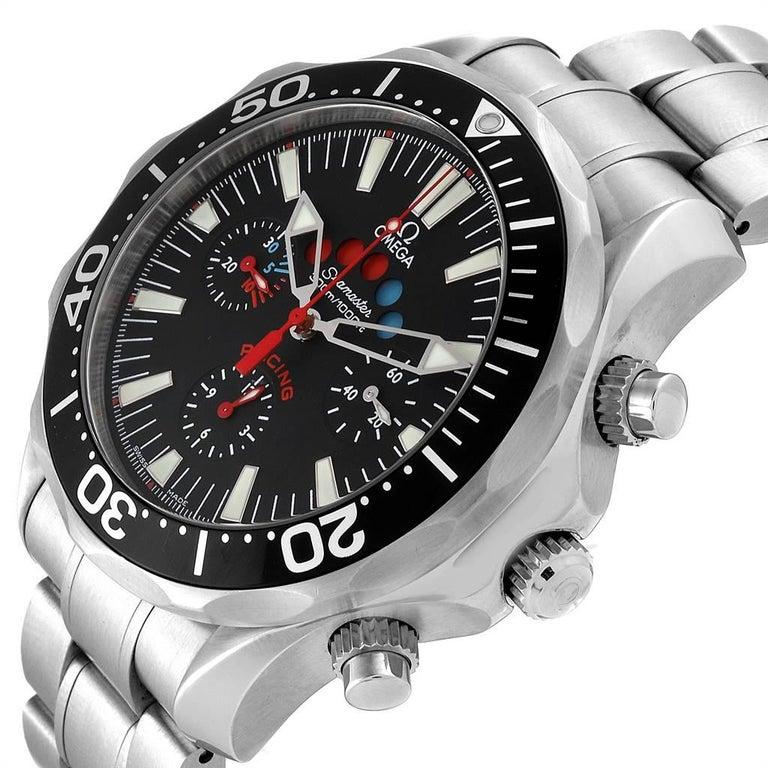 Omega Seamaster Regatta Racing Americas Cup Watch 2569.50.00 Box Card For Sale 1