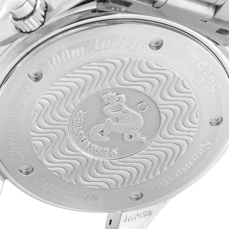 Omega Seamaster Regatta Racing Americas Cup Watch 2569.50.00 Box Card For Sale 2