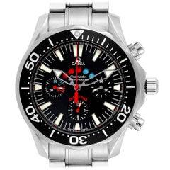 Omega Seamaster Regatta Racing Americas Cup Watch 2569.50.00 Box Card