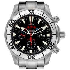 Omega Seamaster Regatta Racing Titanium Men's Watch 2269.52.00 Card
