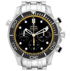 Omega Seamaster Regatta Yellow Hands Men's Watch 212.30.44.50.01.002 Card