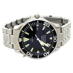 Omega Seamaster SS High Fashion Automatic Men's Dive Watch w/ Date