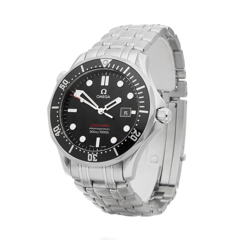 Ref: W6312 Manufacturer: Omega Model: Seamaster  Model Ref: 212.30.41.61.01.001 Age: Circa 2000's Gender: Mens Complete With: Box Only Dial: Black Baton Glass: Sapphire Crystal Movement: Quartz Water Resistance: To Manufacturers Specifications Case: