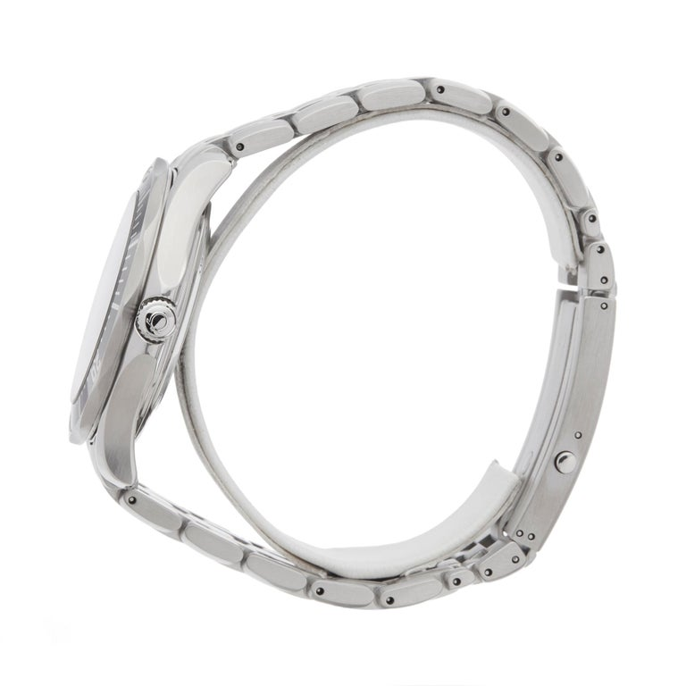 Omega Seamaster Stainless Steel 21230416101001 Wristwatch In Excellent Condition For Sale In Bishops Stortford, Hertfordshire