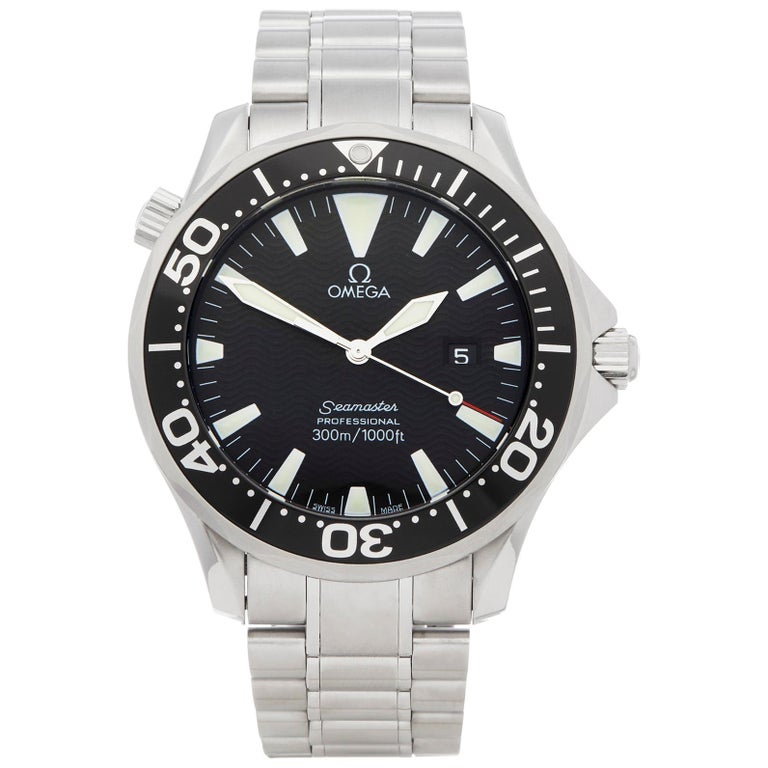 Omega Seamaster Stainless Steel 2264.5 For Sale