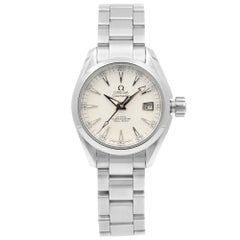 Omega Seamaster Steel Silver Date Dial Automatic Lady Watch 231.10.30.20.02.001